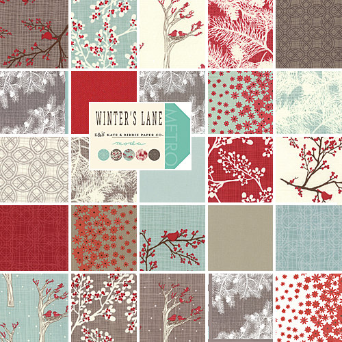Winters Lane by Kate Birdie Paper Co.